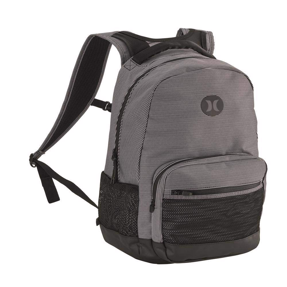 Hurley Patrol Printed Backpack HZQ047102NS, White/Black/Black, OFA - backpacks4less.com