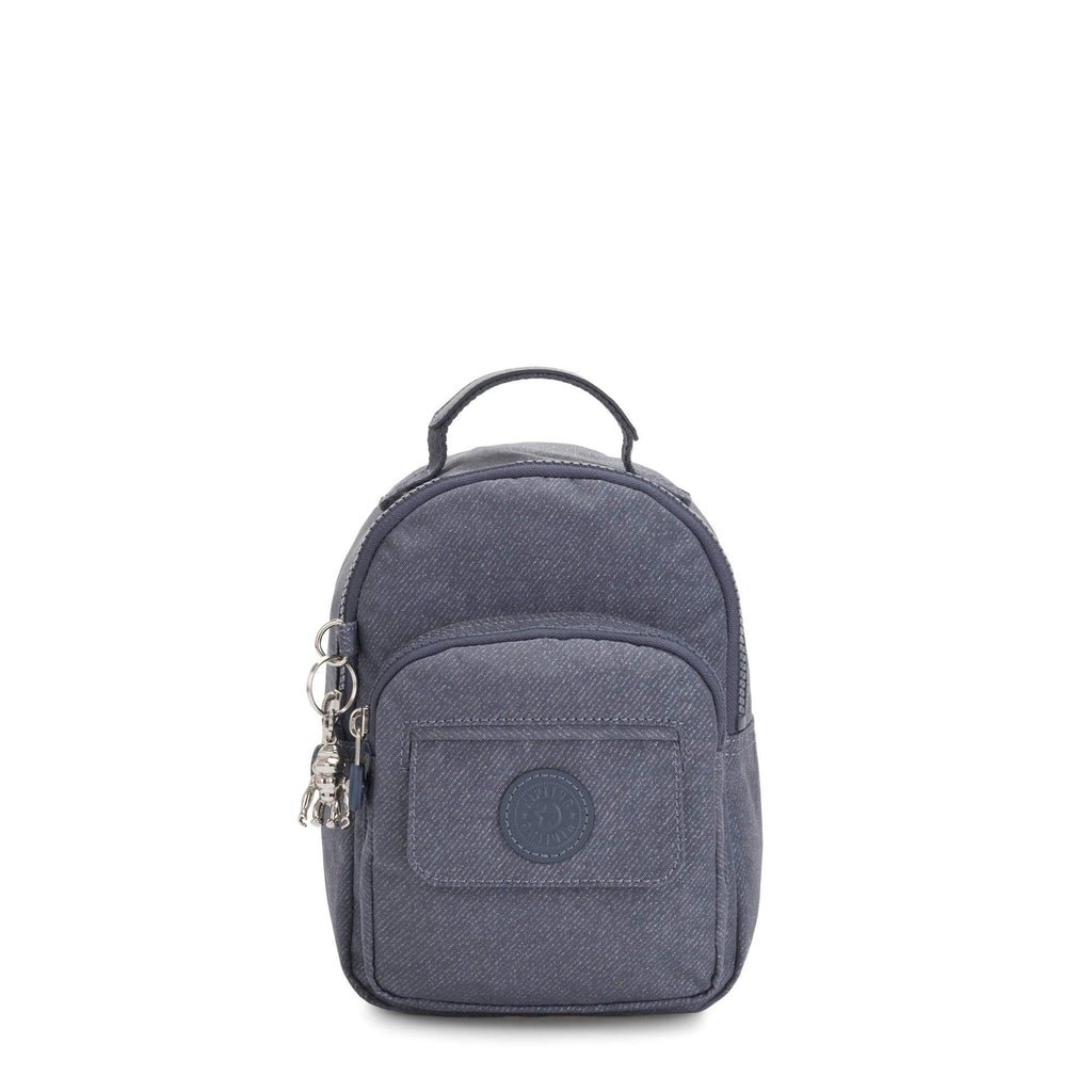 Kipling womens Alber 3-In-1 Convertible Mini Backpack, Navy blue g twist, One Size - backpacks4less.com