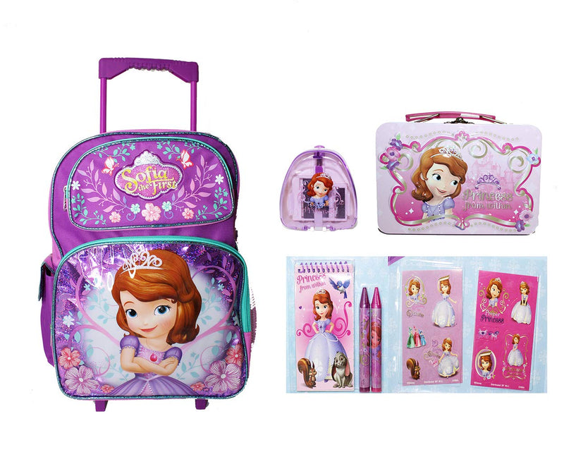 """Backpack 12/"""" Detachable Snack Bag//Utility Case Disney Cars McQueen NWT"""
