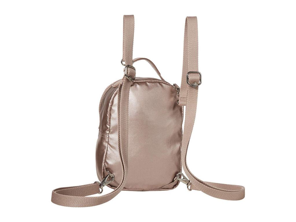 Kipling womens Alber 3-In-1 Convertible Mini Backpack, Metallic Rose, One Size - backpacks4less.com
