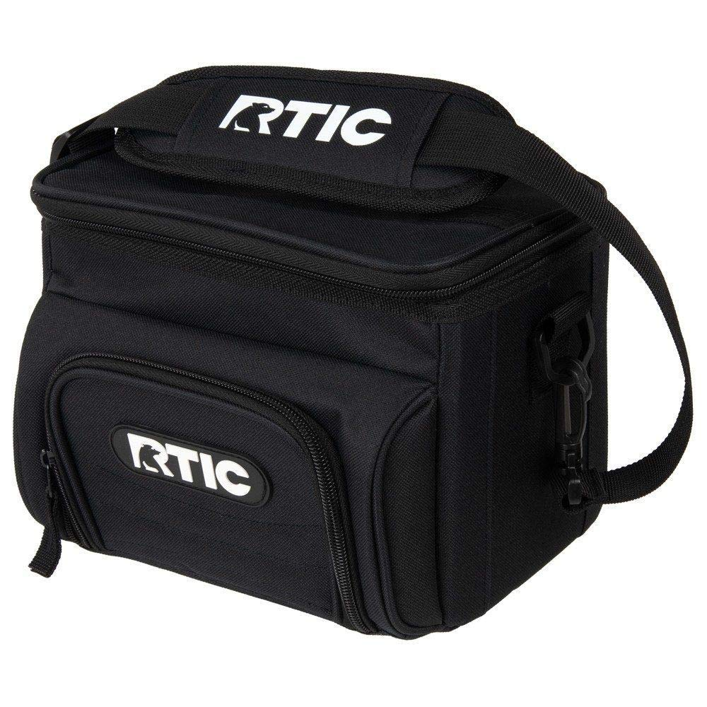 RTIC Day Cooler (Black, 15-Cans) - backpacks4less.com