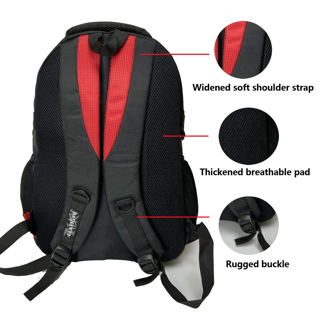 School Backpack For Boys Kids Elementary School Bags Bookbag Red - backpacks4less.com