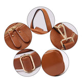 BOYATU Convertible Genuine Leather Backpack Purse for Women Fashion Travel Bag Caramel - backpacks4less.com