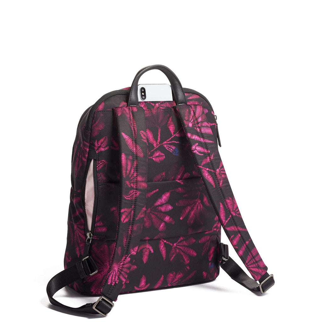 TUMI - Voyageur Hartford Laptop Backpack - 13 Inch Computer Bag For Women - Floral Tapestry - backpacks4less.com