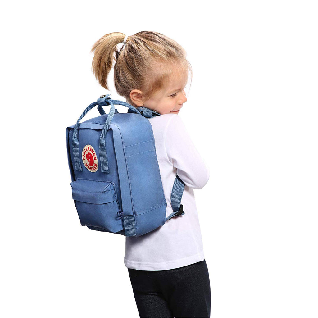 Fjallraven - Kanken Classic Backpack for Everyday, Deep Blue/Rainbow Pattern - backpacks4less.com