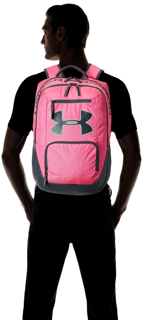 Under Armour Unisex UA Big Logo Backpack Rebel Pink Backpack - backpacks4less.com