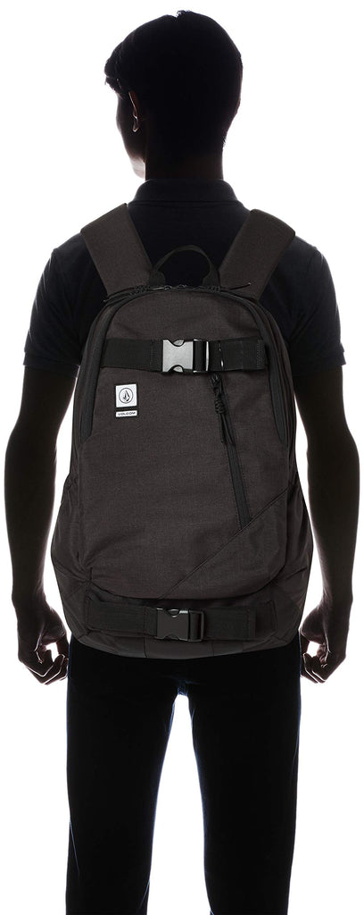 Volcom Young Men's Substrate Backpack Accessory, vintage black, One Size Fits All - backpacks4less.com