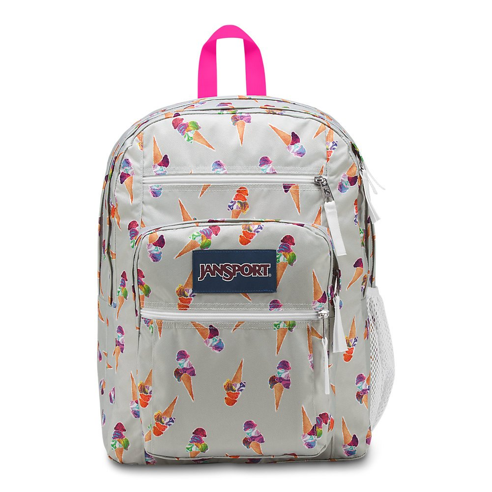 JanSport Big Student Backpack - Cones And Scoops - Oversized - backpacks4less.com