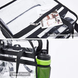 Clear Bag Stadium Approved,NCAA NFL&PGA Security Approved Clear Tote Bag with Multi-Pockets and Adjustable Shoulder Strap,Perfect for Work, School, Sports Games and Concerts-12 X12 X6 - backpacks4less.com