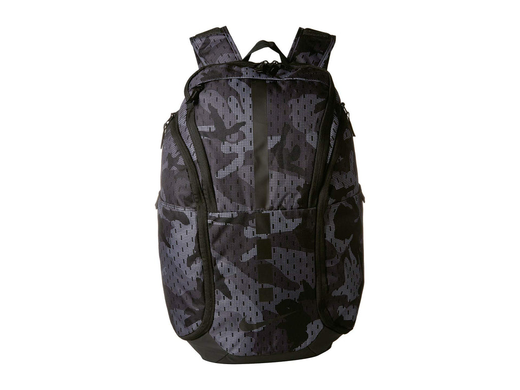 Nike Hoops Elite Pro Backpack Thunder Grey/Gun Smoke/Atmosphere Grey One Size - backpacks4less.com