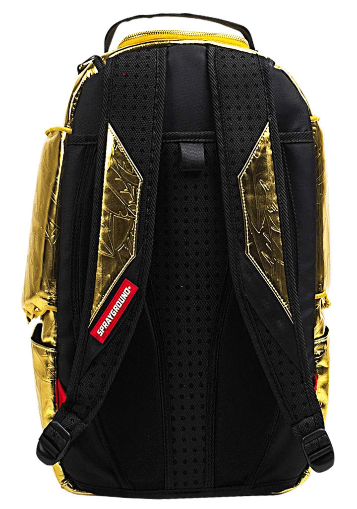 Sprayground - Unisex Adult King Midas Wing Backpack, Size: O/S, Color: Multi - backpacks4less.com