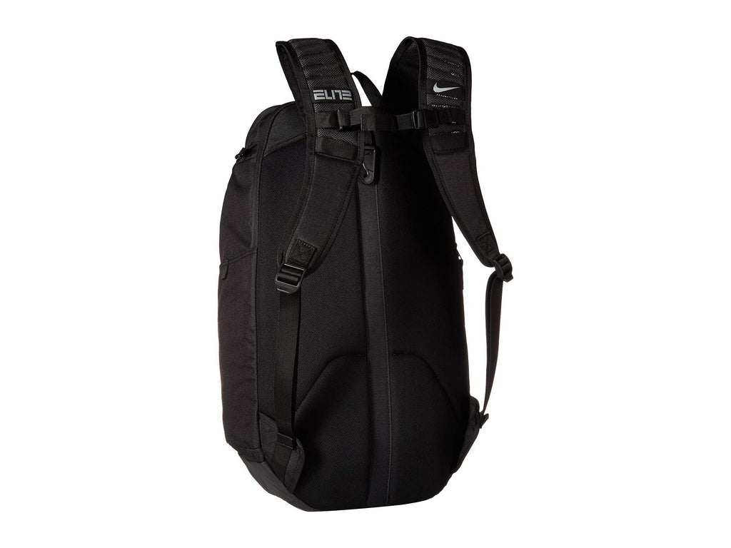 Nike Hoops Elite Hoops Pro Basketball Backpack (Black/Metallic Cool Grey) - backpacks4less.com