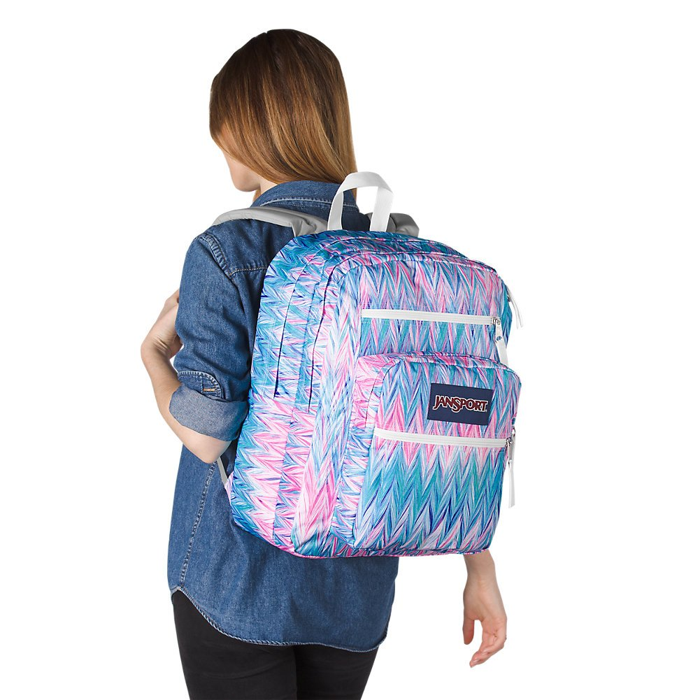 JanSport Big Student Backpack - Painted Chevron - Oversized - backpacks4less.com