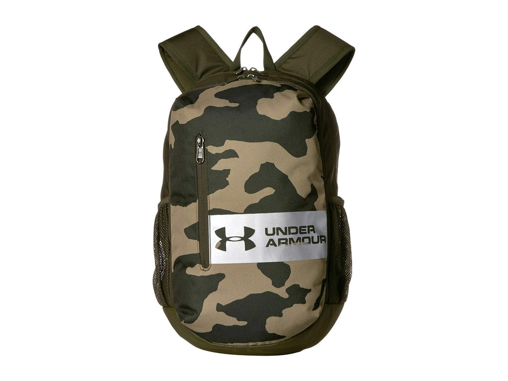 Under Armour UA Roland Backpack Outpost Green/Guardian Green/Steel One Size - backpacks4less.com