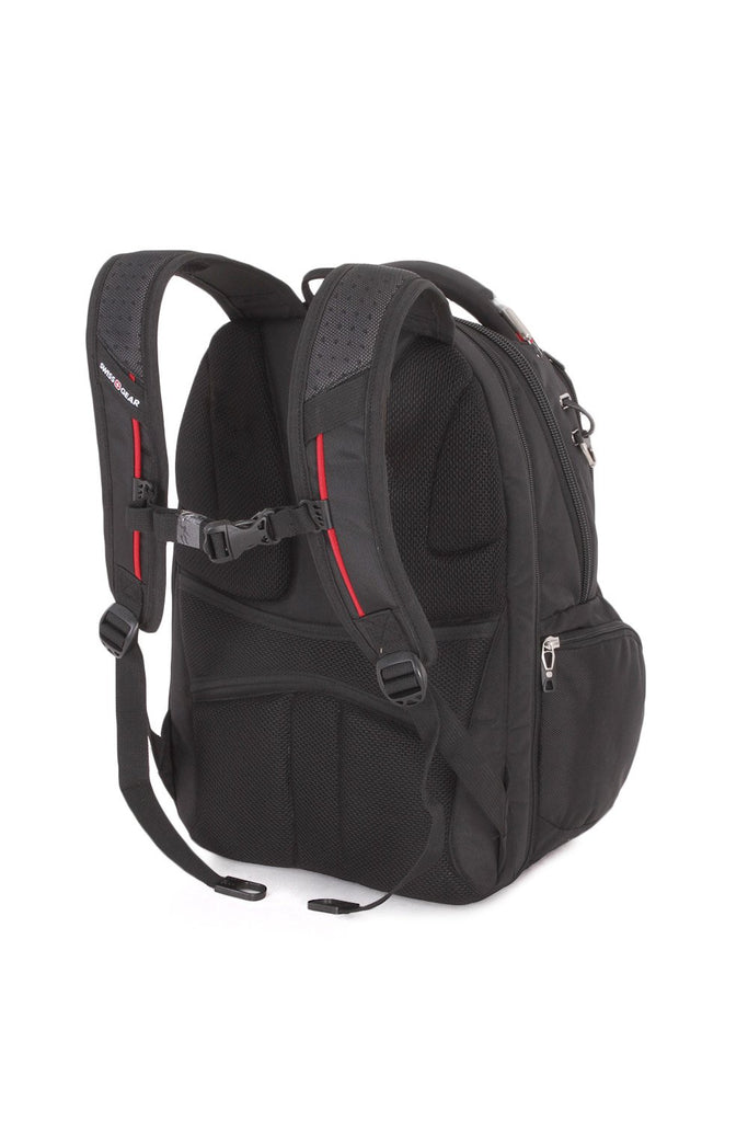 Swiss Gear SA5892 Black TSA Friendly ScanSmart Laptop Backpack - Fits Most 15 Inch Laptops and Tablets - backpacks4less.com