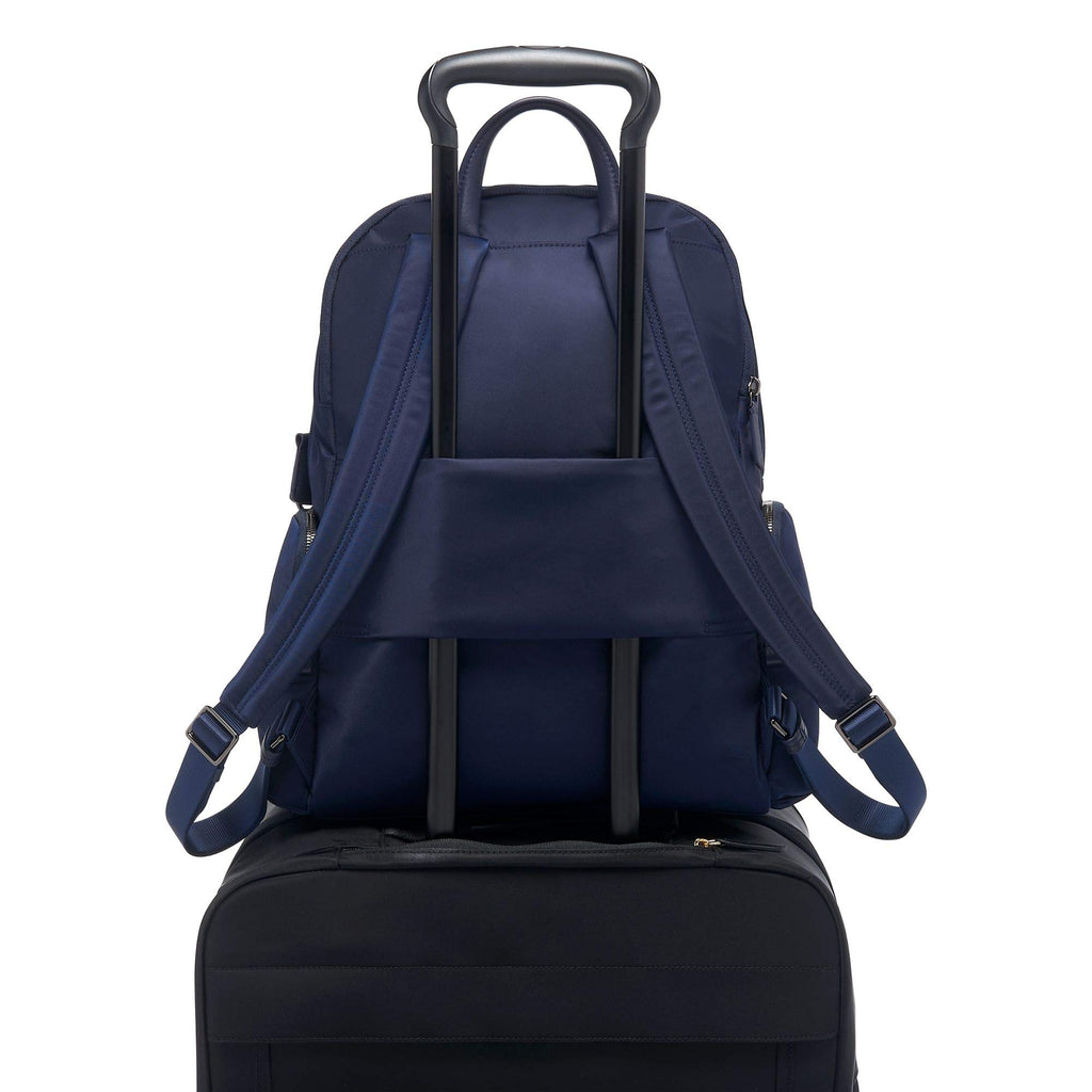 TUMI - Voyageur Carson Laptop Backpack - 15 Inch Computer Bag for Women - Midnight - backpacks4less.com