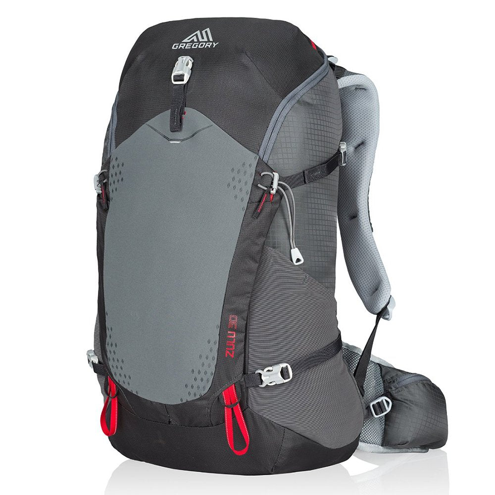 Gregory Mountain Products Zulu 30 Liter Men's Backpack, Feldspar Grey, Medium - backpacks4less.com