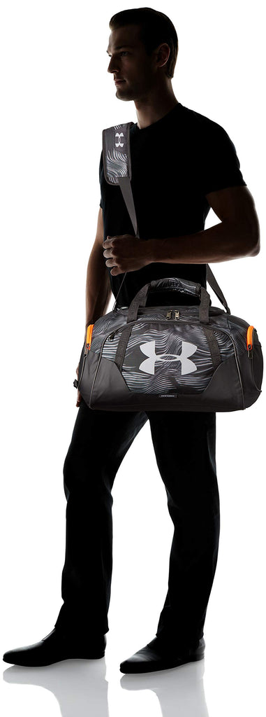 Under Armour Undeniable Duffle 3.0 Gym Bag, Pitch Gray//Mod Gray, X-Small - backpacks4less.com