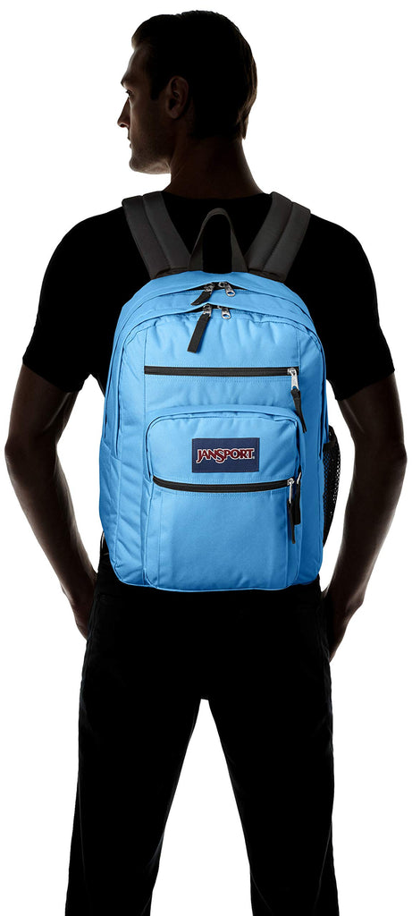 JanSport Unisex Big Student Coastal Blue One Size - backpacks4less.com