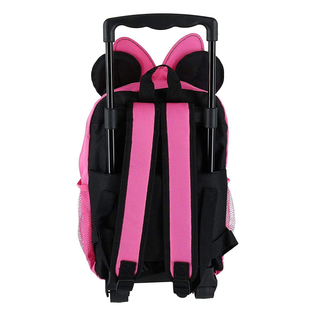 "Disney Minnie Mouse 14"" Softside Rolling Backpack - backpacks4less.com"