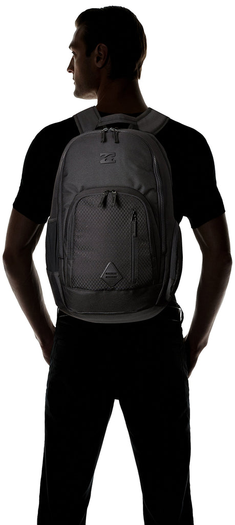 Billabong Men's Classic School Command Backpack, Stealth Black, One Size - backpacks4less.com