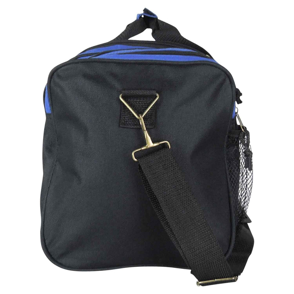 Dalix 20 Inch Sports Duffle Bag with Mesh and Valuables Pockets, Royal Blue - backpacks4less.com