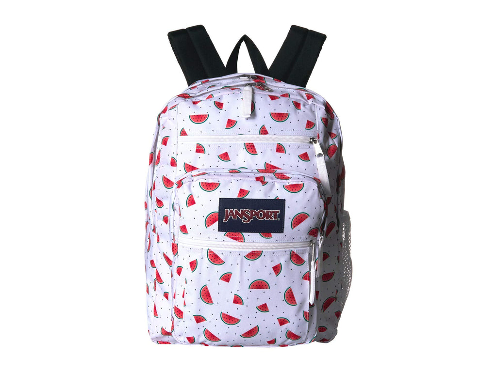 JanSport Big Student Backpack - Watermelon Rain - Oversized - backpacks4less.com