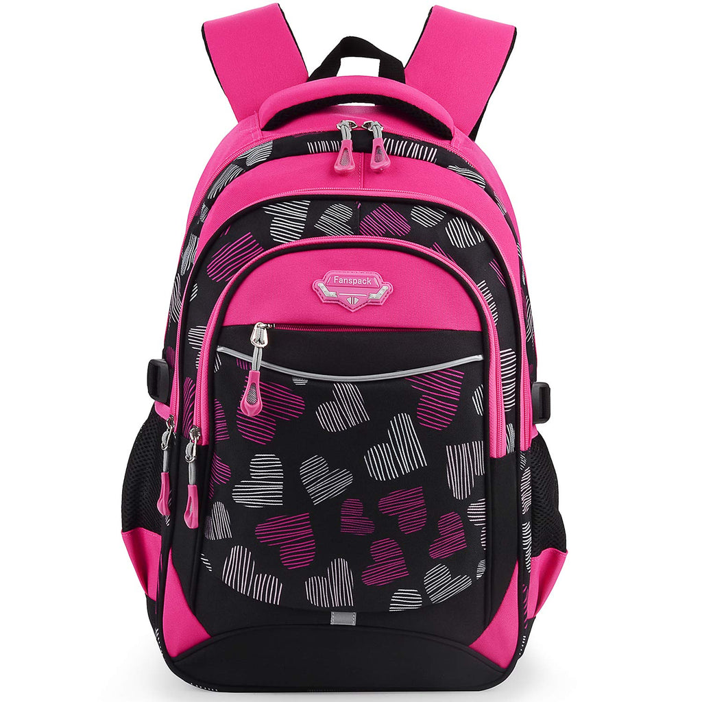 Backpack for Girls, Fanspack Kids School Backpack 2019 New Girls School Bags Bookbags en Nylon - backpacks4less.com