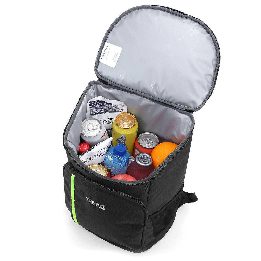 TOURIT Cooler Backpack 30 Cans Lightweight Insulated Backpack Cooler Leak-Proof Soft Cooler Bag Large Capacity for Men Women to Picnics, Camping, Hiking, Beach, Park or Day Trips - backpacks4less.com
