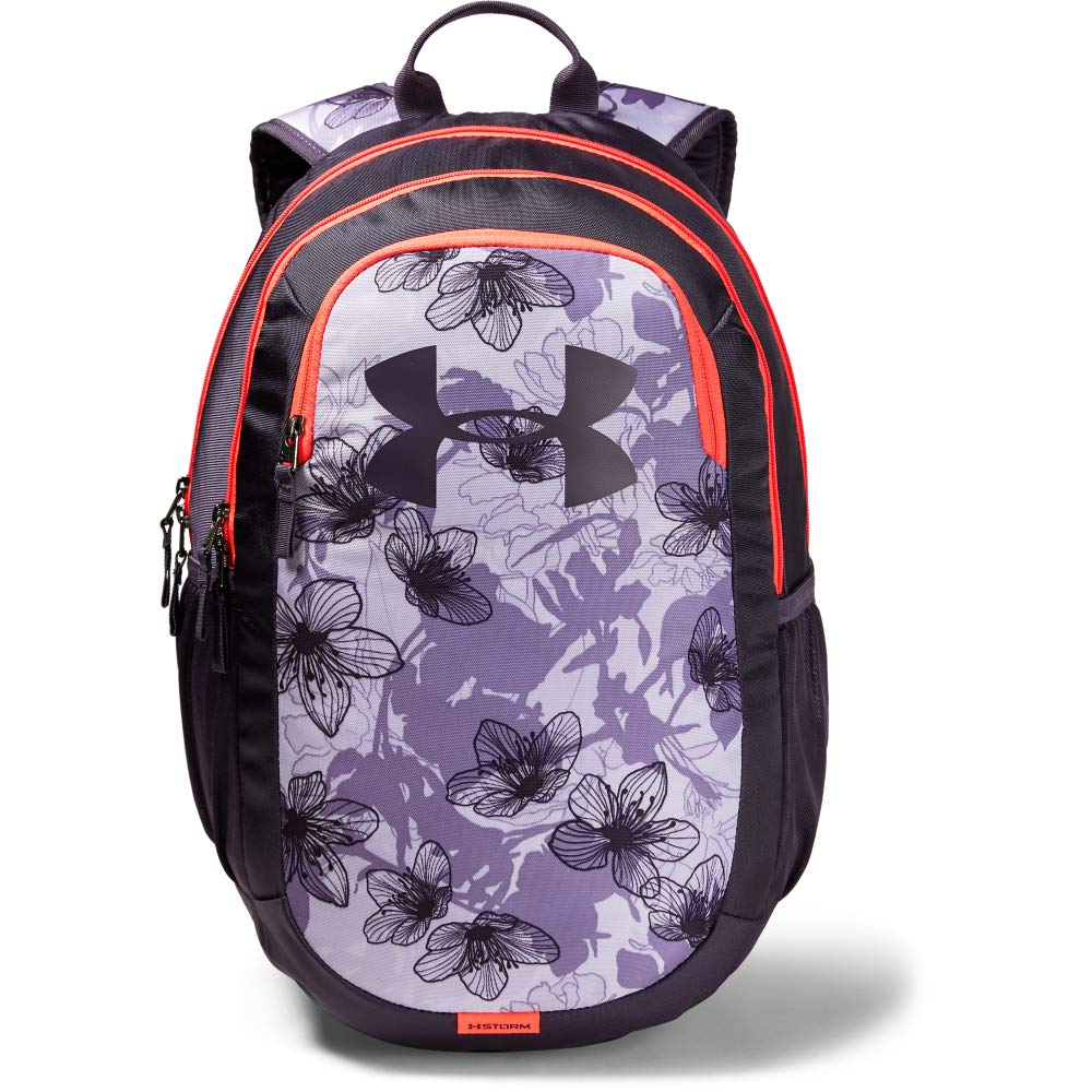 Under Armour Scrimmage Backpack 2.0, Purple Crest (536)/Nocturne Purple, One Size Fits All - backpacks4less.com