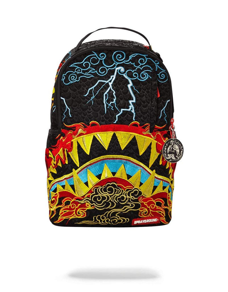 SPRAYGROUND BACKPACK DRAGON SHARK NIGHTMARE - backpacks4less.com