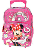Disney Minnie Mouse LARGE Rolling School Backpack and Lunch Box , - backpacks4less.com