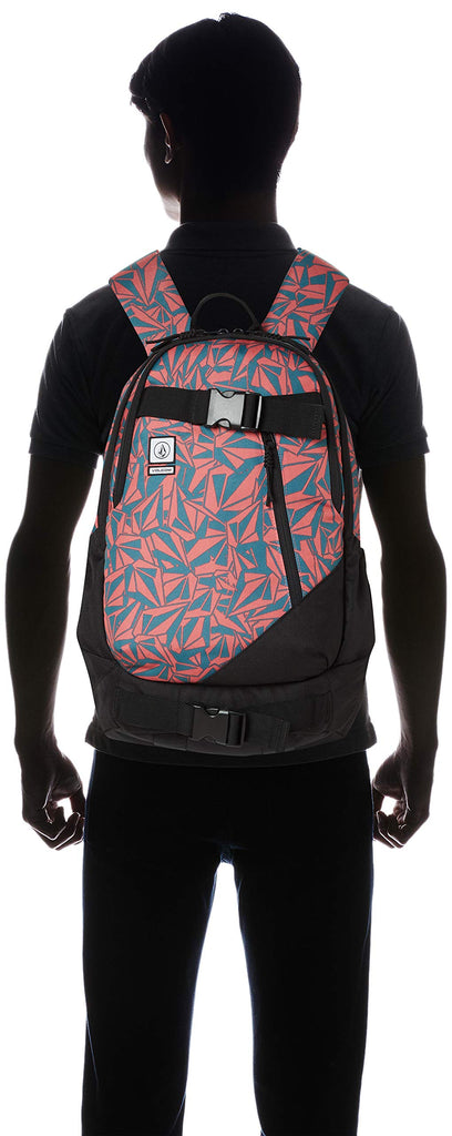 Volcom Young Men's Substrate Backpack Accessory, mineral Red, One Size Fits All - backpacks4less.com