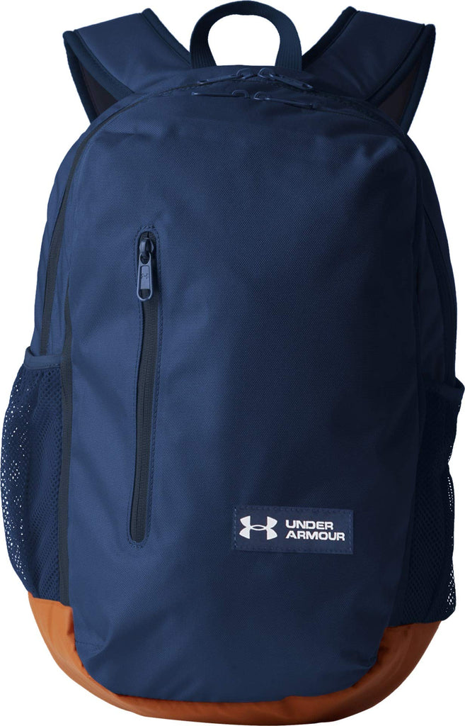 Under Armour Roland Backpack, Academy (408)/White, One Size Fits All - backpacks4less.com