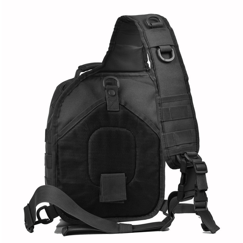 Tactical Sling Bag Pack Military Sling Assault Range Diaper Bag Backpack - backpacks4less.com