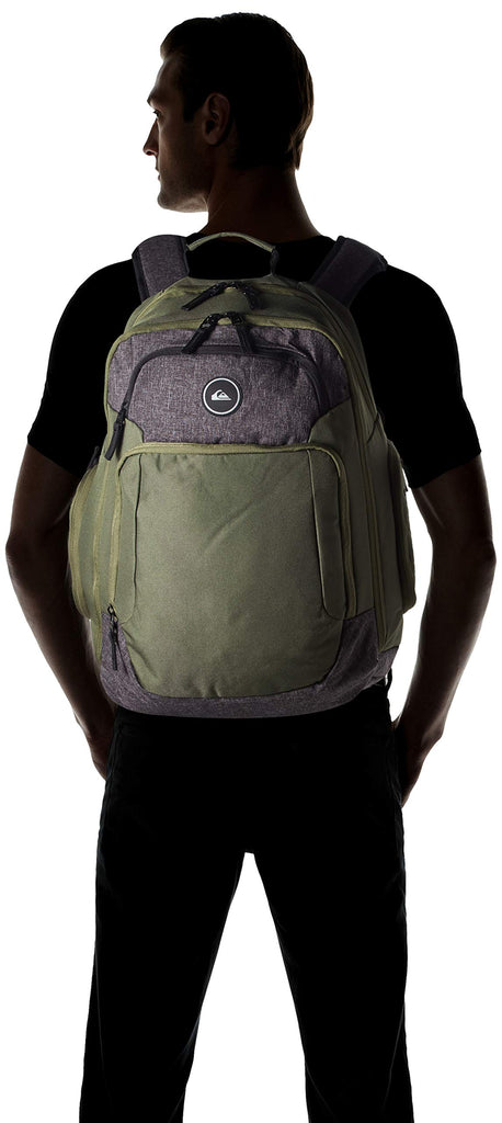 Quiksilver Men's Shutter Backpack, thyme, 1SZ - backpacks4less.com