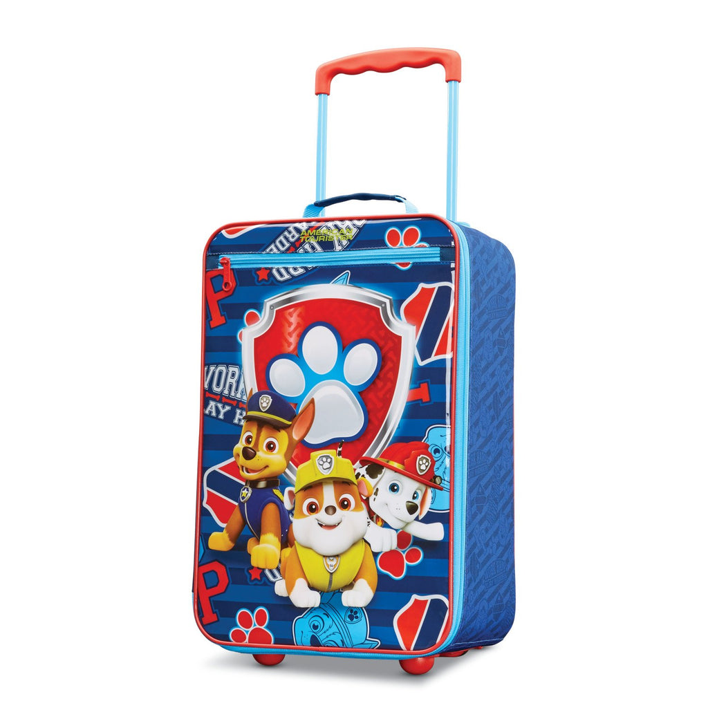 American Tourister Kids' Paw Patrol Softside Upright 18, Red/Blue - backpacks4less.com