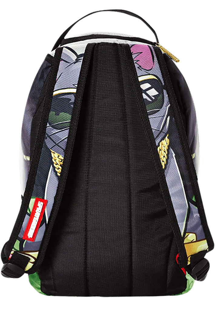 Sprayground Lil Kitten Facepack (O/S, Grey/Multi) - backpacks4less.com