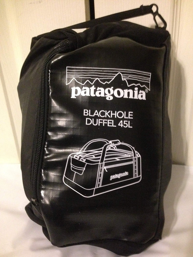 Patagonia Black Hole Duffel 45L Black 2018 -2019 model - backpacks4less.com