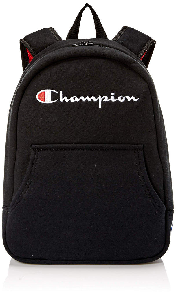 Champion Men's Reverse Weave Hoodie Backpack, black, One Size - backpacks4less.com