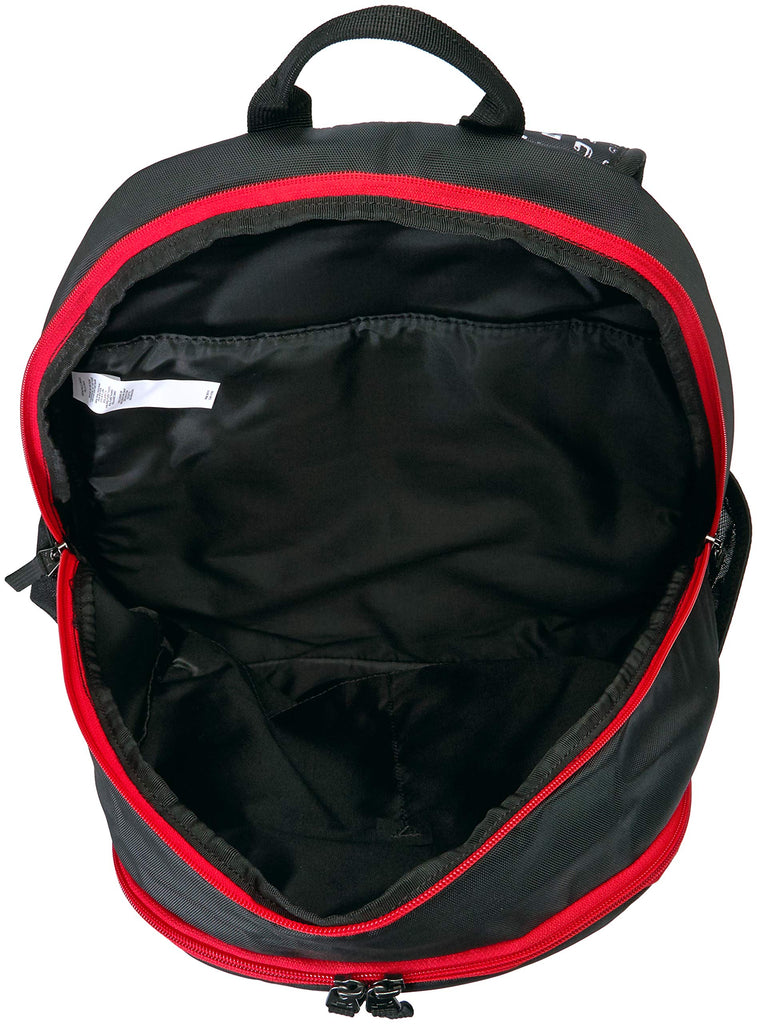 Under Armour Scrimmage Backpack 2.0, Black (002)/Red, One Size Fits All - backpacks4less.com
