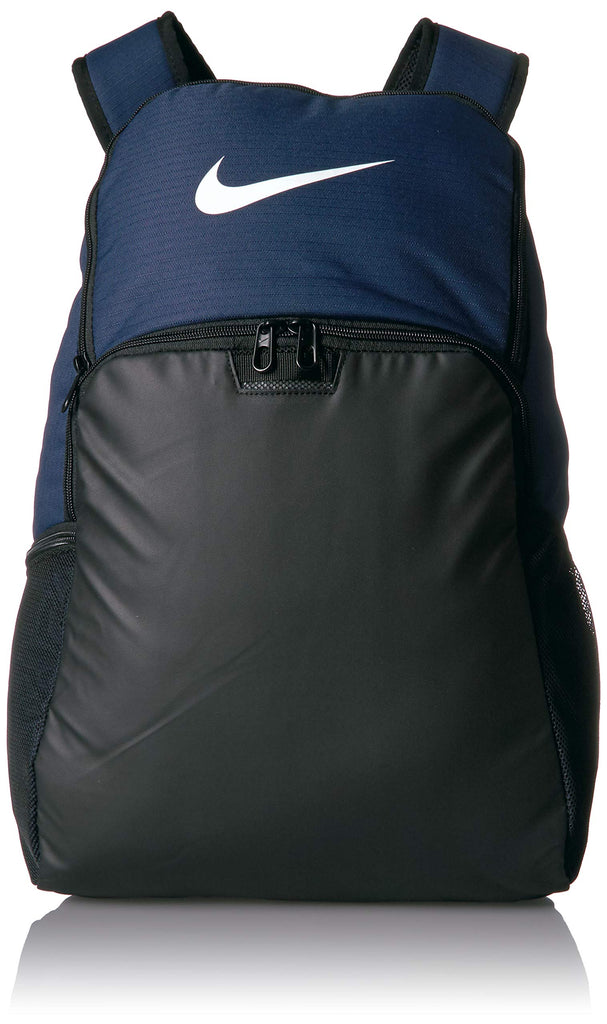 NIKE Brasilia XLarge Backpack 9.0, Midnight Navy/Black/White, Misc - backpacks4less.com