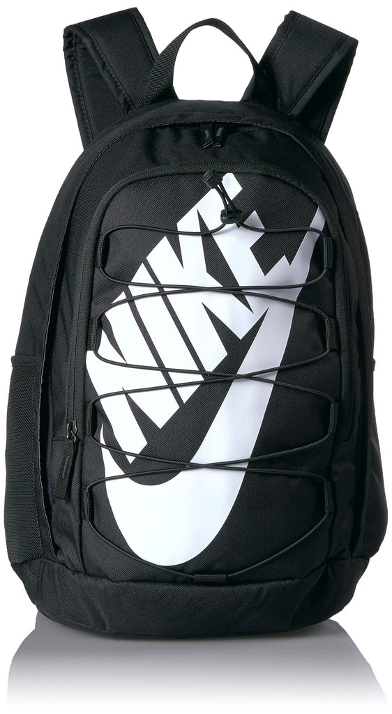 Nike Hayward 2.0 Backpack, Nike Backpack for Women and Men with Polyester Shell & Adjustable Straps, Black/Black/White - backpacks4less.com