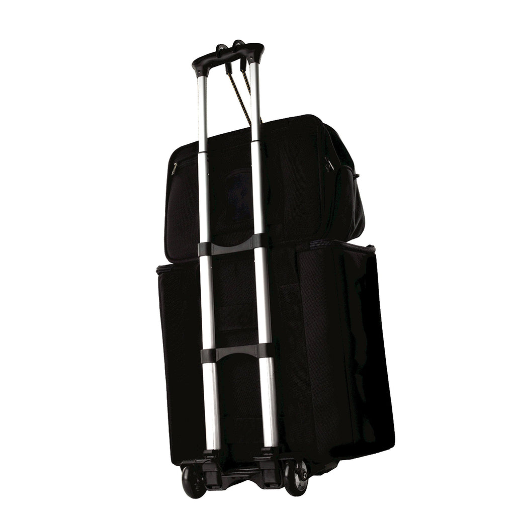 Samsonite Compact Folding Luggage Cart, Black - backpacks4less.com