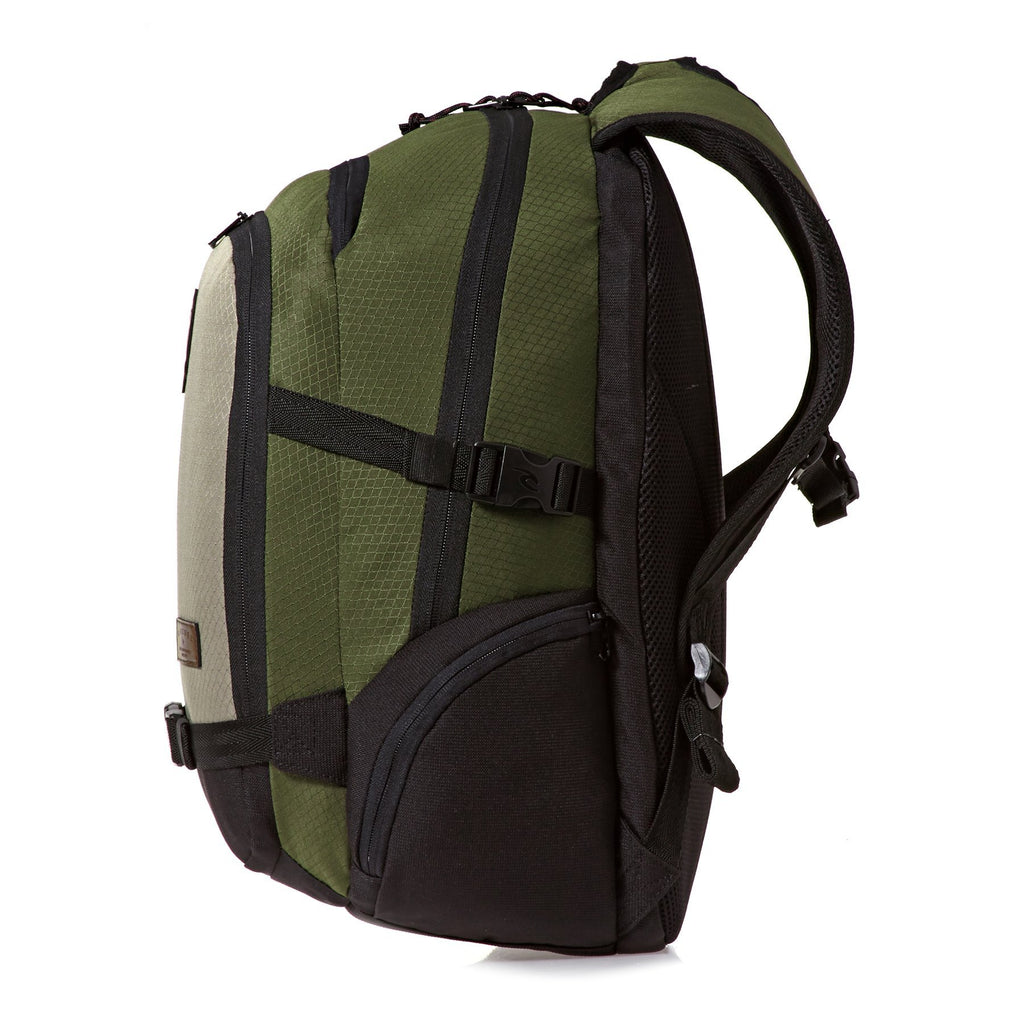 Rip Curl Posse Stacka Backpack in Khaki - backpacks4less.com