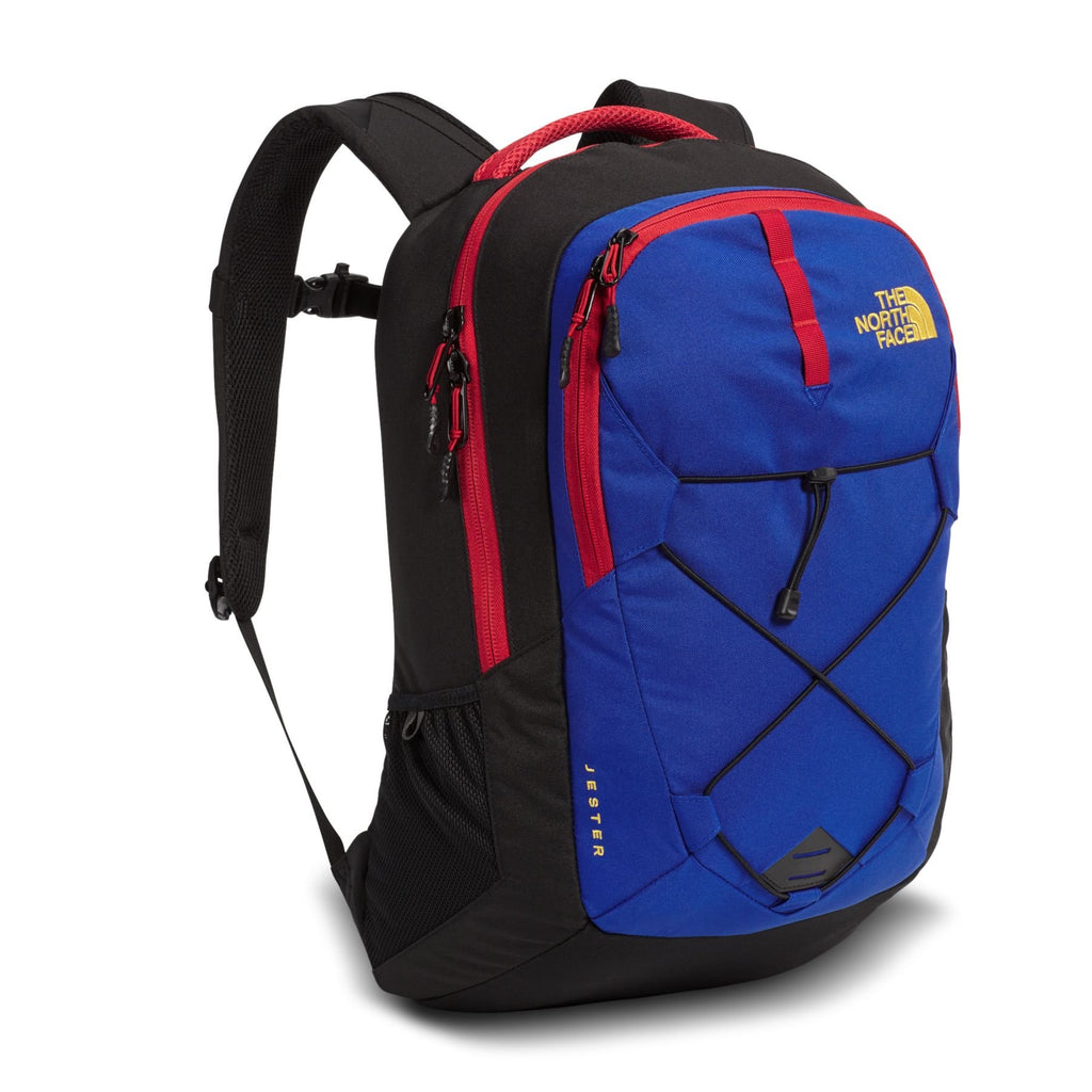 The North Face Jester Backpack, Bright Cobalt Blue/TNF - backpacks4less.com