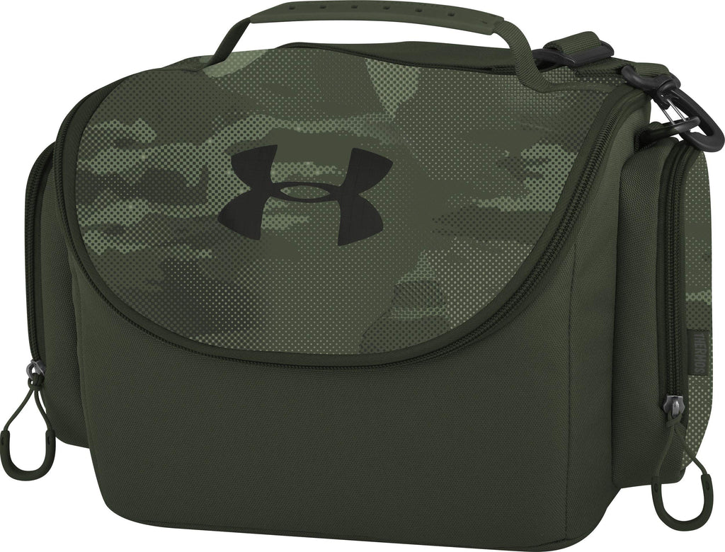 Under Armour 12 Can Soft Sided Cooler, Hyper Green (12 Can Cooler, Sprocket Camo) - backpacks4less.com