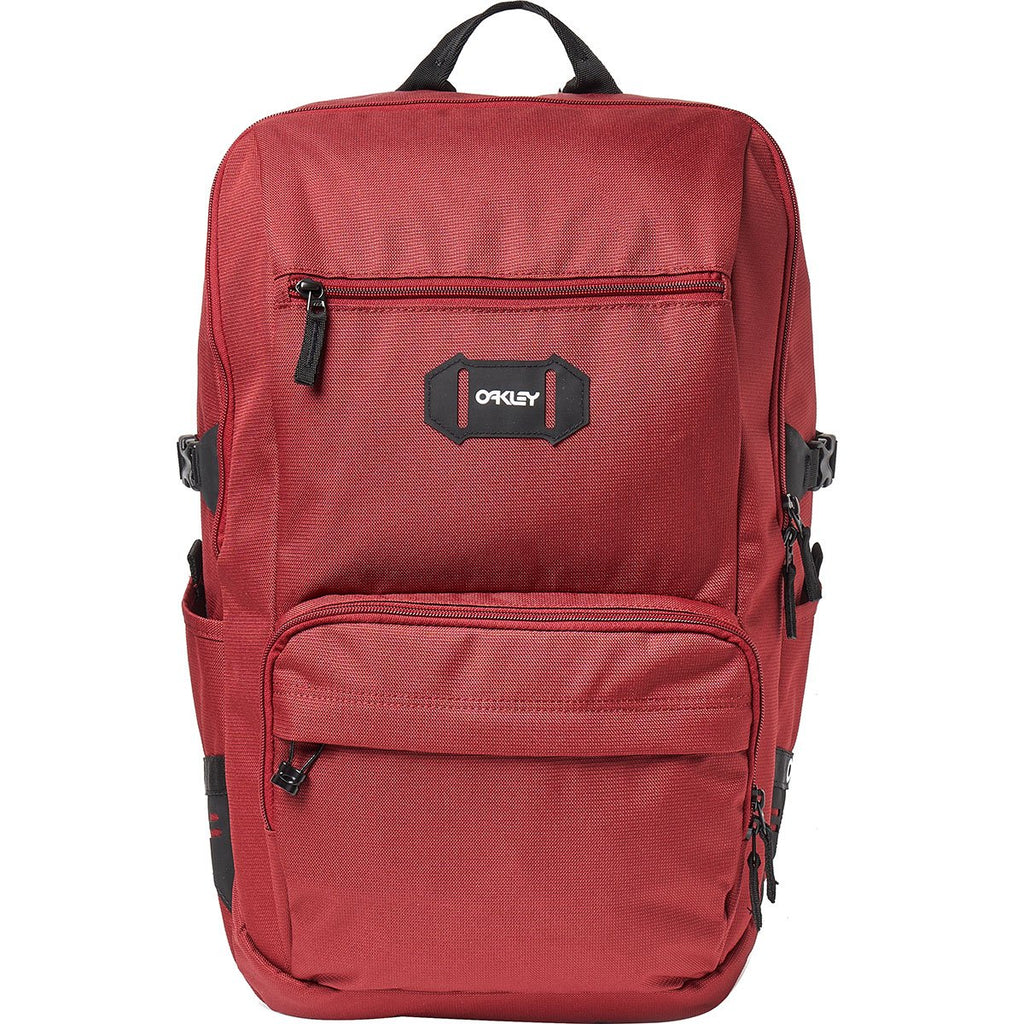 Oakley Men's Street Pocket Backpack, iron red, One Size Fits All - backpacks4less.com