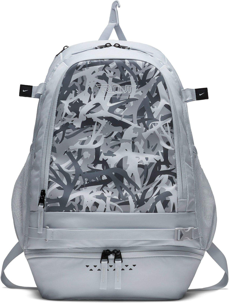 Trout Vapor Baseball Backpack OSFA PURE PLATINUM - backpacks4less.com