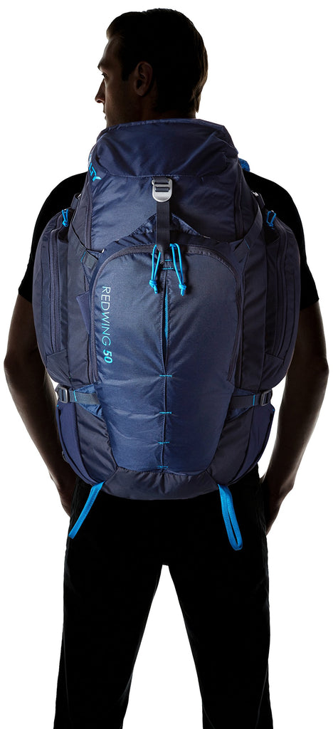 Kelty Redwing 50 Backpack, Twilight Blue - backpacks4less.com